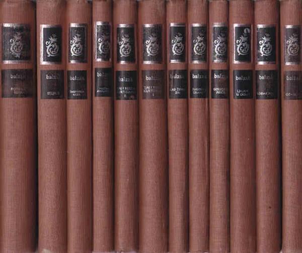 ONORE DE BALZAK sabrana dela u dvanaest knjiga (u 12 knjiga)