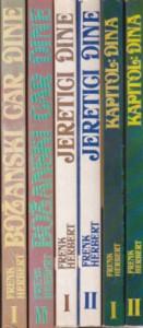 DINA - FRENK HERBERT komplet u šest knjiga (u 6 knjiga)