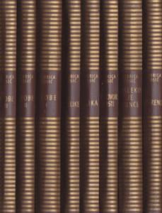 DOBRICA ĆOSIĆ izabrana dela u osam knjiga (u 8 knjiga)
