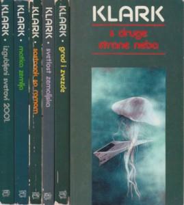 ARTUR KLARK odabrana dela u šest knjiga (u 6 knjiga)