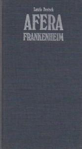 AFERA FRANKENHEIM - LASZLO DEUTSCH