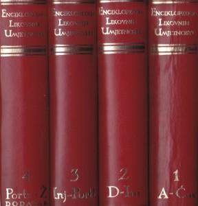ENCIKLOPEDIJA LIKOVNIH UMETNOSTI u četiri knjige (u 4 knjige)