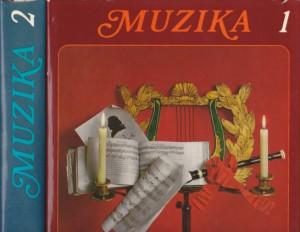 MUZIKA ljudi, instrumenti, dela - priredio NORBER DIFURK u dve knjige (u 2 knjige)