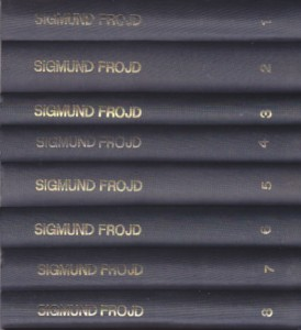 SIGMUND FROJD izabrana dela (u 8 knjiga)