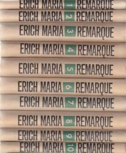 ERIH MARIJA REMARK odabrana dela u deset knjiga (u 10 knjiga)