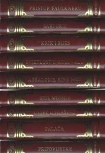 VILIJAM FOKNER izabrana dela u devet knjiga (u 9 knjiga)