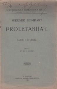 PROLETARIJAT - WERNER SOMBART