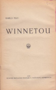 WINNETU - KARL MAY knjiga 1