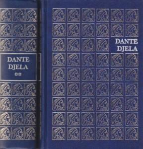 DANTE ALIGIJERI sabrana dela u dve knjige (u 2 knjige)