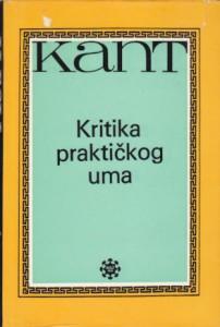 KRITIKA PRAKTIČNOG UMA - IMANUEL KANT