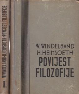 POVIJEST FILOZOFIJE - WILHELM WINDELBAND i H. HEIMSOETH u dve knjige (u 2 knjige)