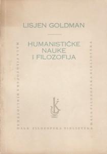 HUMANISTIČKE NAUKE I FILOZOFIJA - LISJEN GOLDMAN