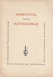 KATEGORIJE - ARISTOTEL
