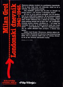 LONDONSKI DNEVNIK 1941 - 1945 - MILAN GROL