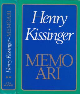 MEMOARI - HENRI KISINDžER u dve knjige (u 2 knjige)