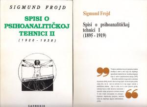 SPISI O PSIHOANALITIČKOJ TEHNICI - SIGMUND FROJD u dve knjige (u 2 knjige)