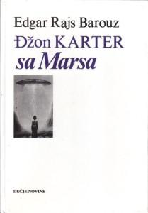 DžON KARTER SA MARSA - EDGAR RAJS BAROUZ
