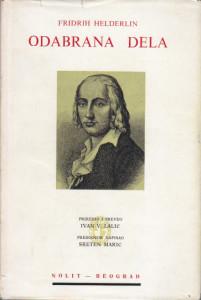 ODABRANA DELA - FRIDRIH HELDERLIN
