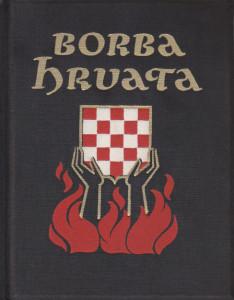 BORBA HRVATA kronika dvaju desetljeća političke povijesti (1919 - 1939) - MIRKO GLOJNARIĆ