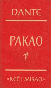 PAKAO - DANTE ALIGIJERI