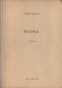 PESMA roman - OSKAR DAVIČO sa potpisom autora