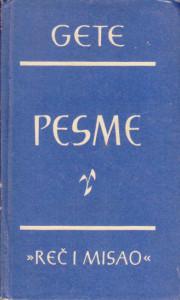 PESME - JOHAN VOLFGANG GETE