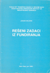 REŠENI ZADACI IZ FUNDIRANJA - JOHAN SKLENA