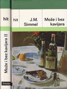 MOŽE I BEZ KAVIJARA - JOHANES MARIO ZIMEL u dve knjige (u 2 knjige)