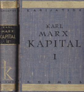 KAPITAL kritika političke ekonomije - KARL MARKS u dve knjige (u 2 knjige)