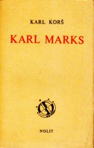 KARL MARKS - KARL KORŠ