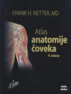 ATLAS ANATOMIJE ČOVEKA - FRANK NETTER (4. izdanje)