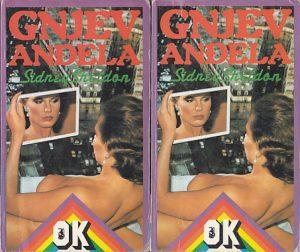 GNEV ANĐELA - SIDNI ŠELDON u dve knjige (u 2 knjige)