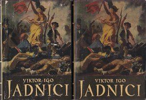 JADNICI roman - VIKTOR IGO u dve knjige (u 2 knjige)