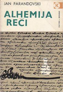 ALHEMIJA REČI - JAN PARANDOVSKI
