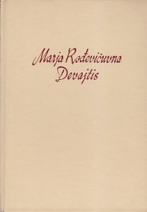 DEVAJTIS roman - MARJA ROĐEVIČUVNA
