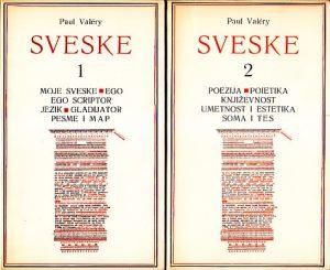 SVESKE - POL VALERI u dve knjige (u 2 knjige)