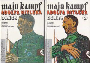 MAJN KAMPF - ADOLF HITLER u dve knjige (u 2 knjige)