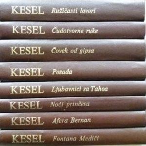 ŽOZEF KESEL izabrana dela u 8 knjiga
