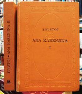 ANA KARENJINA - LAV NIKOLAJEVIČ TOLSTOJ u 2 knjige