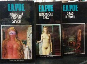 GRABULJE CRVENE SMRTI, IZDAJNIČKO SRCE, GRAD U MORU - EDGAR ALAN PO u 3 knjige