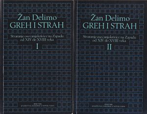 GREH I STRAH - ŽAN DELIMO u 2 knjige