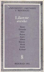 LIKOVNE SVESKE 8 (Sezan, Gonsales, Mišo, Rajner, Karo, Albers, Rikrim, Moris, Andre, Kirhner)