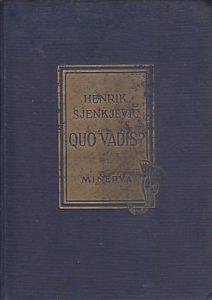 QUO VADIS? roman - HENRIK SJENKJEVIČ