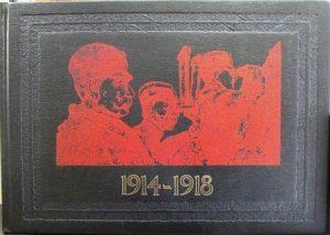 RATNI ALBUM 1914-1918 (Srp.-Fra.-Eng.) - potpukovnik ANDRA POPOVIĆ