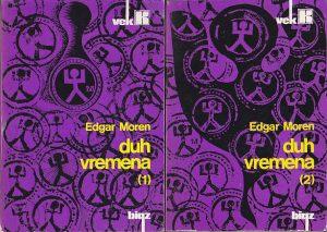 DUG VREMENA - EDGAR MOREN u 2 knjige