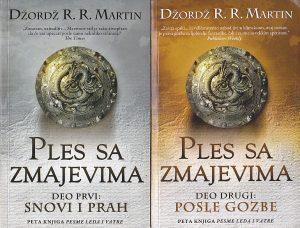 PLES SA ZMAJEVIMA (1 i 2) - DŽORDŽ R. R. MARTIN