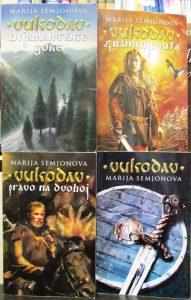 VUKODAV - MARIJA SEMJONOVA komplet u 4 knjige