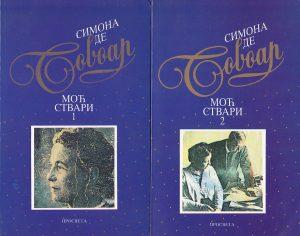 MOĆ STVARI - SIMON DE BOVOAR u 2 knjige