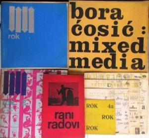ROK časopis za književnost i estetičko ispitivanje stvarnosti (Brojevi 1, 2, 3, 4 + Miksed Media) - BORA ĆOSIĆ
