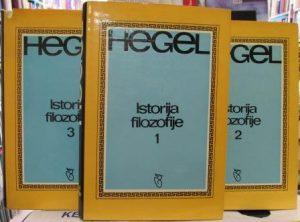 ISTORIJA FILOZOFIJE - GEORG VILHELM FRIDRIH HEGEL u 3 knjige